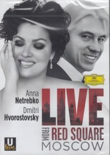 - LIVE FROM RED SQUARE MOSCOW DVD