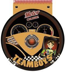 - TEAMBOYS - STENCIL - Motorversenyző #