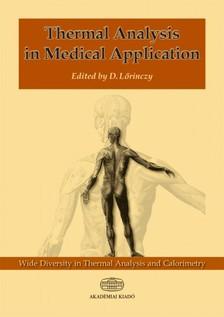 Lőrinczy Dénes - Thermal Analysis in Medical Application  [eKönyv: epub, mobi]