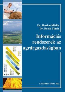 356602 - Dr. Herdon M.-Dr. R�z - Inform�ci�s rendszerek az agr�rgazdas�gban