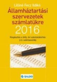 Lilin� Fecz Ildik� - �llamh�ztart�si szervezetek sz�mlat�kre kieg�sz�t�s 2016