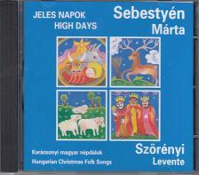 SZ�R�NYI LEVENTE - JELES NAPOK CD SEBESTY�N M�RTA