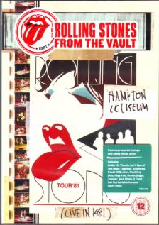 - THE ROLLING STONES FROM THE VAULT DVD LIVE IN 1981 HAMPTON COLISEUM