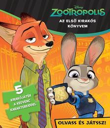 - - Disney - Szivacsos kirak�k�nyv - Zootropolis