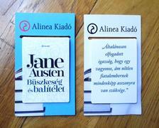 Jane Austen - Büszkeség és balítélet idézetes mágneses könyvjelző