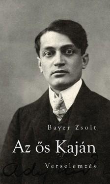 Bayer Zsolt - Az ős Kaján - Verselemzés [eKönyv: epub, mobi]