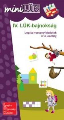 - IV. L�K-bajnoks�g - logikai versenyfeladatok 3-4. oszt�ly