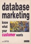 Linton, Ian - Database marketing [antikvár]