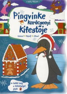 - Pingvinke kar�csonyi kifest�je