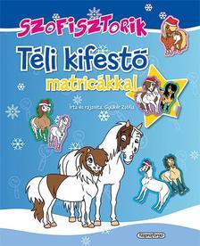 Gy�k�r Zs�fia - Szofisztorik - T�li kifest� matric�kkal