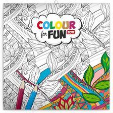 SmartCalendart Kft. - PG Colour for fun, grid calendar 2017, 30x30 cm