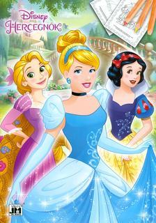 - Disney Hercegn�k - A4 sz�nez� 2
