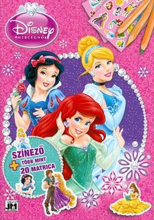 - Disney Hercegn�k - A4+ matric�s sz�nez�