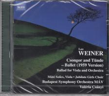 WEINER LEÓ - CSONGOR ÉS TÜNDE,CD