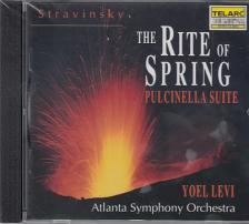 STRAVINSKY - THE RITE OF SPRING,PULCINELLA SUITE,CD