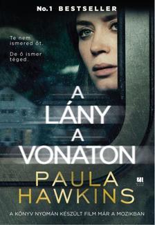 Paula Hawkins - A l�ny a vonaton - filmes bor�t�val