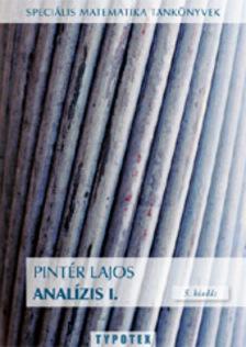 PINT�R LAJOS - Anal�zis I. - 6. kiad�s