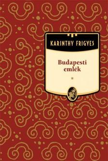 Karinthy Frigyes - Budapesti emlék [eKönyv: epub, mobi]