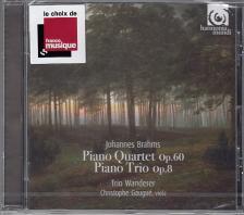 BRAHMS - PIANO TRIO NO 1 OP.8/QUARTET,CD