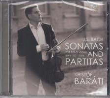 J. S. Bach - SONATAS AND PARTITAS 2CD BARÁTI KRISTÓF