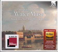 Handel - WATER MUSIC,CD