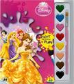 - Disney Hercegnők - A5 kifestő vízfesték készlettel