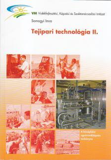 Somogyi Imre - É-355/II TEJIPARI TECHNOLÓGIA II.