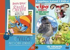 Elina Rouhiainen - Angry Birds Sztella Naplók - Villő akcióba lendül! + Ajándék VIPO és barátai-Az Idő Sziget túlélői 4.-es DVD - Tél küldetés