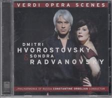 Verdi - VERDI OPERA SCENES CD DMITRI HVOROSTOVSKY, SONDRA RADVANOVSKY
