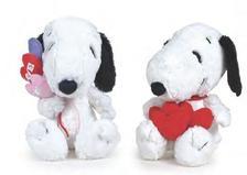 - Snoopy Valentin napi, piros vagy sz�nes szivekkel