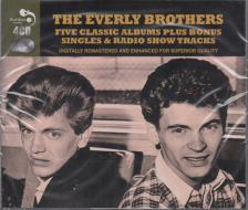 EVERLY BROTHERS - THE EVERLY BROTHERS 4CD FIVE CLASSIC ALBUMS