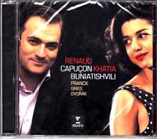 FRANCK,GRIEG,DVORÁK - FRANCK - GRIEG - DVORÁK CD CAPUCON,BUNIATISHVILI