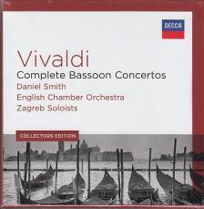 Vivaldi - COMPLETE BASSOON CONCERTOS 5CD DANIEL SMITH