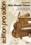 GOODWIN, RON - MISS MARPLE-THEME F�R VIOLINE,  CELLO UND PIANO ARR. VON UWE R�SSLER