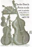 DANCLA, CHARLES - PETITE �COLE DE LA MELODIE OP.129 NO.1-3 2 HEGED�RE �S ZONGOR�RA
