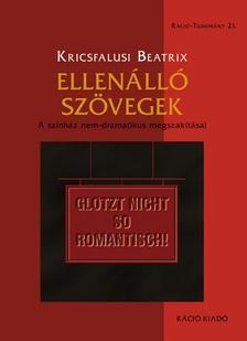 Kricsfalusi Beatrix - Ellenálló szövegek