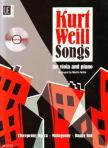 WEILL, KURT - KURT WEILL SONGS FOR VIOLA AND PIANO