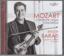 MOZART - COMPLETE VIOLIN CONCERTOS 2CD BAR�TI KRIST�F
