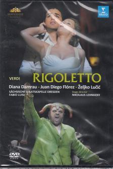 Verdi - RIGOLETTO DVD DAMRAU, FL�REZ, LUCIC