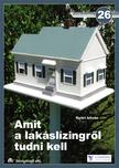 Győri István - AMIT A LAKÁSLÍZINGRŐL TUDNI KELL - ETK FÜZETEK 26. -