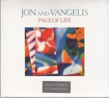 - - PAGE OF LIFE - JON AND VANGELIS CD