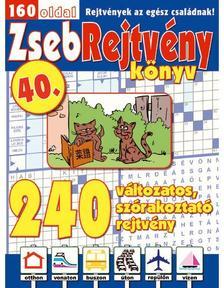 CSOSCH KIAD� - ZsebRejtv�ny K�nyv 40.