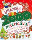 Gippetti, Rachel - Karácsony 2000 matricával - Készülődj együtt a Mikulással és kis manóival