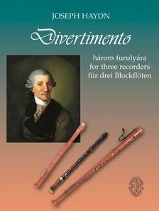 Joseph Haydn, �tdolg. Helmut Brook - Divertimento 3 furuly�ra - kotta