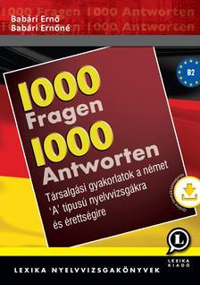Dr. Bab�ri Ern� - Dr. Bab�ri Ern�n� - 1000 k�rd�s 1000 v�lasz N�met + mp3CD-vel - �J!