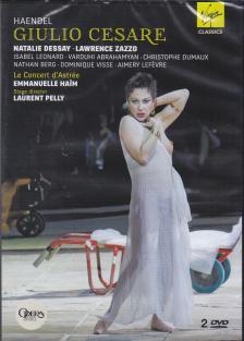 Handel - GIULIO CAESARE DVD  NATALIE DESSAY, LAWRENCE ZAZZO