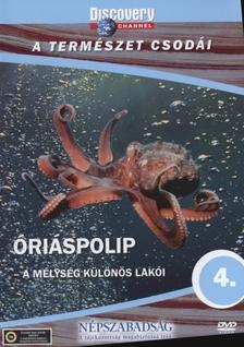- ÓRIÁSPOLIP - A TERMÉSZET CSODÁI - DVD - DISCOVERY