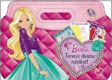 - Barbie - Tervezz divatos ruh�kat! - T�bb, mint 200 matrica, 20 v�zlat, 3 sablon