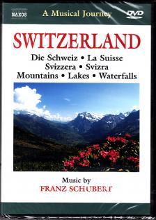 SCHUBERT - SWITZERLAND - MOUNTAINS - LAKES - WATERFALLS DVD