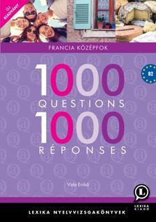 LX-0131-1 Vida Enik� - 1000 Questions 1000 R�ponses - Francia k�z�pfok /�j/